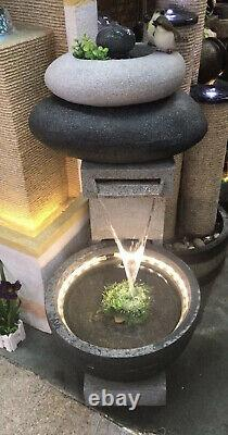 2 in 1 Large size indoor outdoor Modern Garden Water Feature fountain