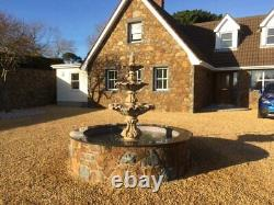 3 Tiered Windsor Fountain Suitable For Pond Use Stone Garden Water Fountain