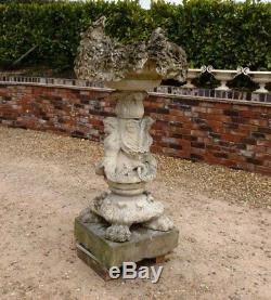 Antique Reclaimed Garden Water Fountain Outdoor Feature
