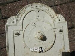 Antique vintage Shanks Barrhead cast iron water drinking fountain garden feature