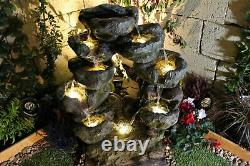 Argyll Forest Woodland Garden Water Feature, Outdoor Fountain Great Value