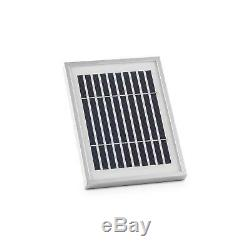 B-Stock Garden Fountains Water Outdoor Solar Powered Pump Pond Feature LED Lig