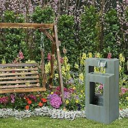 Ben Ross Double Frames Fountain Water Feature Mains Operated Outdoor Garden