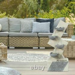 Ben Ross Polyresin 4 Bowls Fountain Garden Water Feature Outdoor Fountain