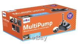 Bermuda 2019 Multipump Submersible Pond Pump Fountain Water Garden Feature Pond