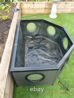 Blagdon 1055734 Affinity Grand Half-Moon Mocha Weave Fish Water Feature Pool Pon