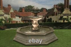 Brecon Pool Surround Regis Ball Stone Garden Water Fountain Feature