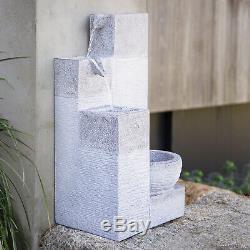 Cascade Fountain Water Feature Indoor Outdoor Garden