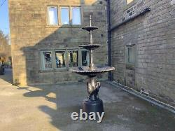 Cast iron 3 tier fountain cast iron 3 tier water feature