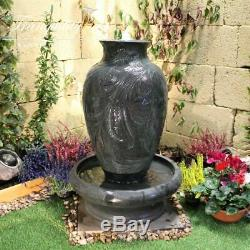 Classical Urn Traditional Garden Water Feature, Outdoor Fountain Great Value