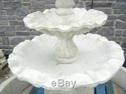 Concrete Garden Water Fountain Three Tier