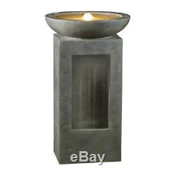 Contemporary Garden Water Feature Modern Water Fountain Self Contained Water