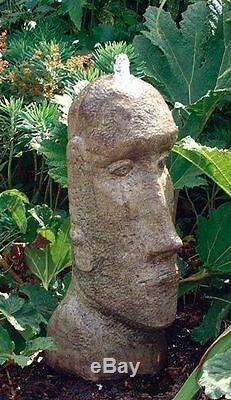 Easter Island Head Fountain Fountain Garden Water Feature