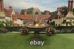 Edwardain Eye Water Fountain Stone Garden Ornament Water Feature