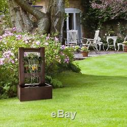 Elegant Water Fountain Free Standing 30 W Pump 10 M Cable Garden Outdoor Home