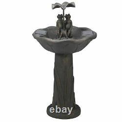Frog Frolics Cascade Fountain Water Feature Smart Garden Solar Powered
