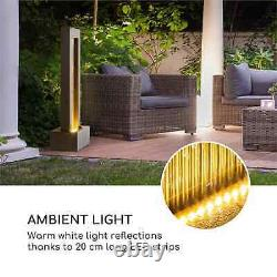 Garden Fountain Indoor Fountain Outdoor Home Decoration Waterfall LED Water Tank