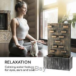 Garden Fountain Indoor Outdoor Cascading Water Pump 6 W Home Patio Decor