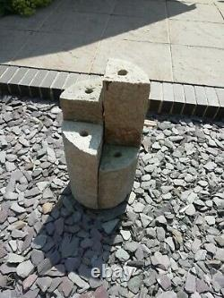 Granite 4 Towers Water Feature / Fountain worth £800 new if you check