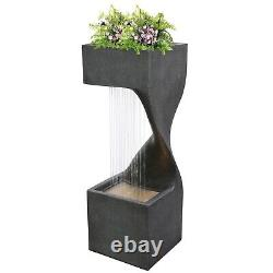 Hollow Brook Falls Water Feature Garden Outdoor Fountain BRAND NEW FREE DELIVERY