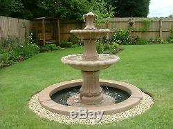 Huge Range Of, Outdoor Water Feature Fountain Garden Statue Solar Pump