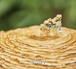 Kelkay Impressions Cotswold Sun Garden Water Feature Fountain Stone Effect