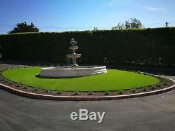 Large Chester Pool Surround With Edwardian Garden Water Fountain Feature