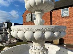 Large Concrete Garden Tiered Fountain Water Feature 260cm High