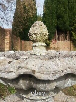 Large Four Tier Garden Water Fountain 6ft high 4.5ft wide Water Feature Statue