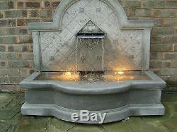 Large Stone Garden Outdoor Tapas Wall Water Fountain Feature