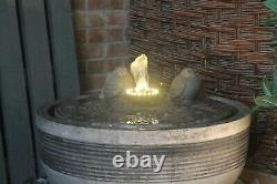 Large Stone Niagara Water Fountain Garden Ornament Patio Self Contained Feature