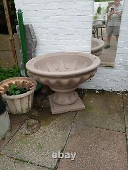 Large garden fountain water feature