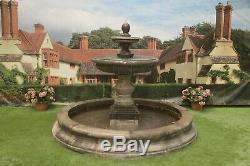 Medium Cambrigde Pool Surround Large Regis Water Fountain Garden Featur