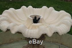 Neopolitan Outdoor Garden Fountain Water Feature Stone