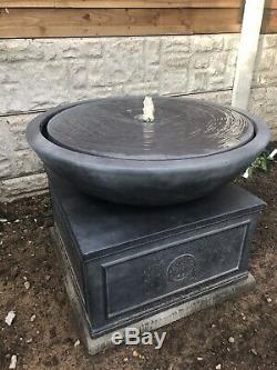 Regal Water Fountain Outdoors Garden Water Feature