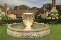 Romford Pool Surround With Perisian Tub Stone Garden Water Fountain Feature