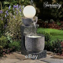 Serenity Cascading Bowl Water Feature