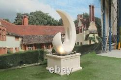 Shard On Heritage Tub Water Fountain Feature Stone Garden Ornament Statue