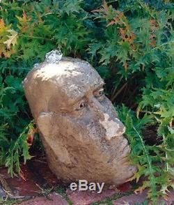 Small Moi Head Fountain Garden Fountain Garden Water Feature