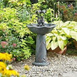 Smart Garden Solar Frog Frolics Umbrella Garden Water Feature Fountain