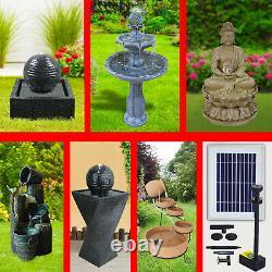 Solar Water Feature Outdoor Garden Fountain Solar Fountain