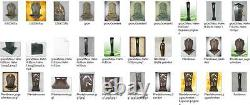 Stand Wall Fountain Green Coloured Chiselled Garden Water Iron Cast House + 1