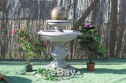 Stone Regis Ball Water Fountain Feature Garden Ornament