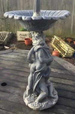 Stunning 3ft Georgian Lead Fountain Early Garden Architectural Water Feature