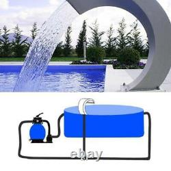 Swimming Pool Waterfall Fountain Stainless Steel Garden Pond Summer Water Pool