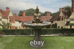 Thai Buddha Fountain Stone Garden Ornament Water Feature Ornament