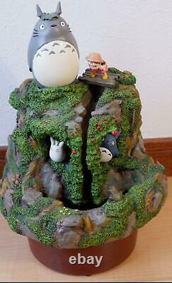 Totoro Water Garden Fountain Limited Rare Anime from Japan Free Shipping