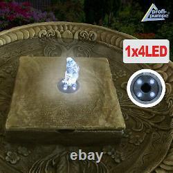 Water Feature Garden Fountain Love Fountain Classic Fountain Led Lights Fountain