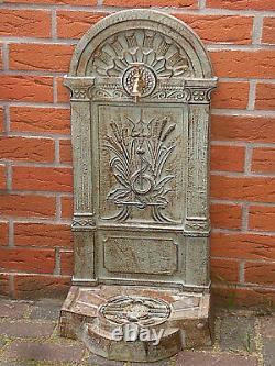 Water Spigot 82cm 24kg Cast Iron, Garden Fountain, Basins