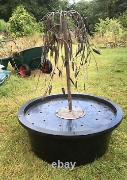 Weeping Willow Copper Garden Fountain/Water Feature